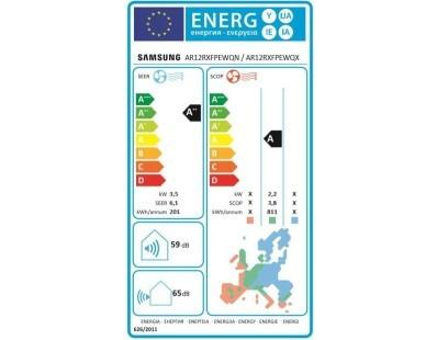 Klima uređaj Samsung Maldives AR12RXFPEWQNEU komplet 111878