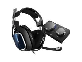 Astro Gaming A40 TR Headset + MixAmp Pro - schwarz, blau [PS4, PC, MAC, Switch]
