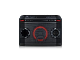 LG OL45, Schwarz - HiFi Anlage (220W, XBOOM, CD/Radio/USB, Auto DJ, Karaoke, Bluetooth)