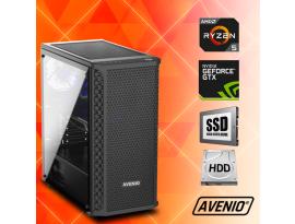 Stolno računalo Avenio TopGamer AMD Ryzen 5 3400G 3.70GHz 8GB 240GB SSD + 1TB HDD FreeDOS nVidia GeForce GTX 1650 SUPER 4GB GDDR6
