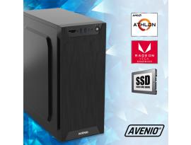 Stolno računalo Avenio TopOffice AMD Athlon 3000G 3.50GHz 8GB 240GB SSD DVDRW FreeDOS Radeon Vega 3 Graphics