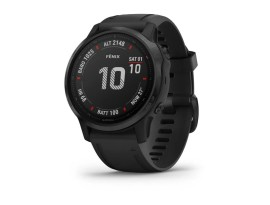 Pametni multisport GPS sat Garmin Fenix 6S PRO Black (crni remen, manje kućište)