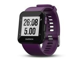 Pametni sportski GPS sat Garmin Forerunner 30 WHRM ljubičasti
