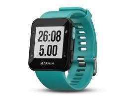 Pametni sportski GPS sat Garmin Forerunner 30 WHRM tirkizni