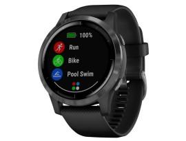 Pametni fitness GPS sat Garmin vivoactive 4 Slate (crni remen)