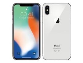 Mobitel iPhone X 256GB Silver A klasa, dostava i jamstvo 3 mj. (bez orig. pakiranja)