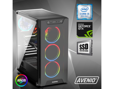 Stolno računalo Avenio ProGamer Intel Core i5 9600KF 3.70GHz 16GB 1TB NVMe SSD FreeDOS nVidia GeForce GTX 1660 SUPER 6GB GDDR6 123240