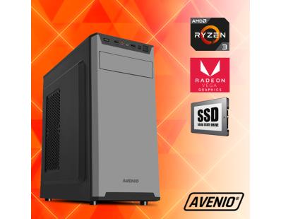 Stolno računalo Avenio Vindicator AMD Ryzen 3 3200G 3.60GHz 8GB 512GB SSD DVDRW FreeDOS Radeon™ Vega 8 Graphics 123237