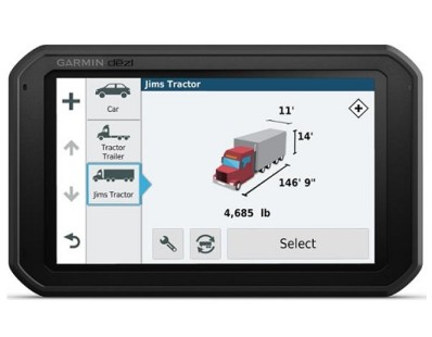 "Profesionalna navigacija Garmin dēzlCam 785 LMT-D Europe, Lifte time update, Bluetooth, 7"" kamionski mod 112858"