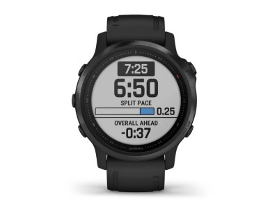 Pametni multisport GPS sat Garmin Fenix 6S PRO Black (crni remen, manje kućište) 112359