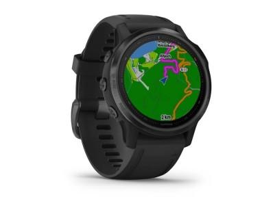 Pametni multisport GPS sat Garmin Fenix 6S PRO Black (crni remen, manje kućište) 112358