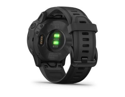 Pametni multisport GPS sat Garmin Fenix 6S PRO Black (crni remen, manje kućište) 112356