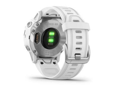 Pametni multisport GPS sat Garmin Fenix 6S Silver bijeli (bijeli remen, manje kućište) 112338