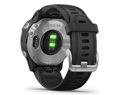 Pametni multisport GPS sat Garmin Fenix 6S Silver crni (crni remen, manje kućište) 112347