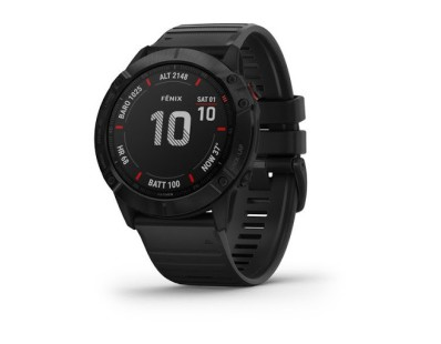 Pametni multisport GPS sat Garmin Fenix 6X PRO Black (crni remen) 112378
