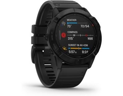 Pametni multisport GPS sat Garmin Fenix 6X PRO Black (crni remen) 112377