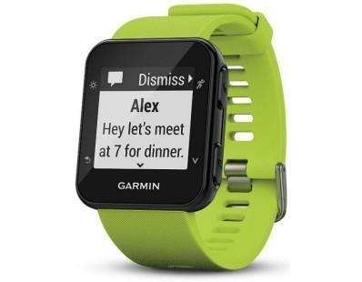 Pametni sportski GPS sat Garmin Forerunner 35 WHRM zeleni 112535