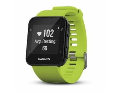 Pametni sportski GPS sat Garmin Forerunner 35 WHRM zeleni 112533