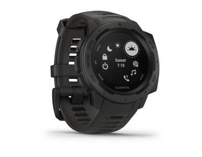 Pametni sportski GPS sat Garmin Instinct Graphite 112207