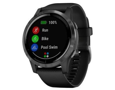 Pametni fitness GPS sat Garmin vivoactive 4 Slate (crni remen) 112501