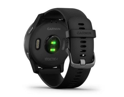 Pametni fitness GPS sat Garmin vivoactive 4 Slate (crni remen) 112499