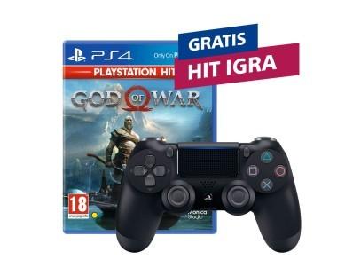 PS4 Dualshock Controller v2 Black + HIT naslov po izboru 111998