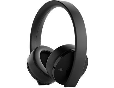 PS4 Wireless Gold Headset Black + Fortnite VCH (2019) 112029